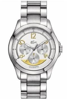 Lacoste Sofia Multifunction Silver Dial Stainless Steel ladies Watch 2000708 *** Please continue read.