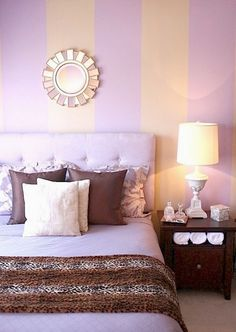 painted stripes guest room by kelly porter photo