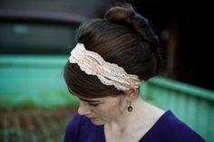 Want this headband so I can do this!
