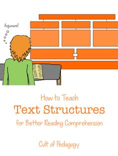 How to teach text structures for better reading comprehension and improved retention. This article breaks down the research behind explicit teaching of text structures and includes a video that shows how to do it: great for content-area literacy!