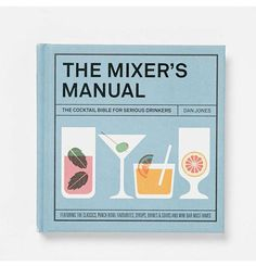 Shake things up with this cocktail recipe book.