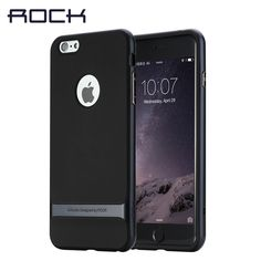 Original ROCK Case For Apple iPhone 7 6 6s case 2016 New hybrid PC TPU Back Cover For iPhone 7 6s plus cases With retail box #Affiliate