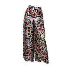 Étirer Jersey Pantalon Emilio Pucci WQG0h1cd