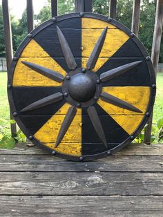 Jarl Borg Authentic Battleworn Shield with Strap
