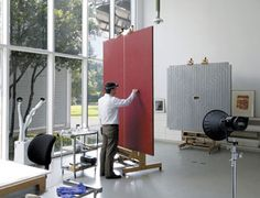 The Menil Conservation Department is responsible for the care and preservation of the museum's great variety of objects—some 16,000 paintings, sculptures, prints, drawings, photographs, and rare books. While restoring artworks to their prime condition is one of the most visible tasks, the majority of the department's work entails minimizing risks of damage. The conservators and department staff work closely with museum colleagues and various specialists to maintain an ideal environment...
