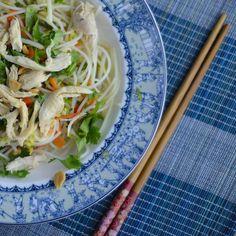 _DSC9432 Vietnamese Chicken Rice Noodle Salad