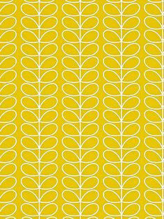 Buy Orla Kiely by Harlequin Linear Stem Wallpaper, Yellow, 110400 online at JohnLewis.com - John Lewis