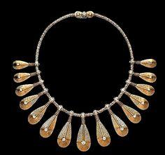 """Cartier """"Tribal Fringe"""" Necklace, 1958"""