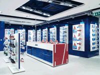 ASICS, Oxford Street, designed in collaboration with Wests Design Consultants