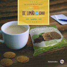 Cookies de Limão com Chia - Levitta