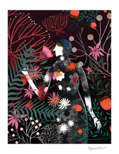 Dolce&Gabbana - Fashion illustration by Decue Wu American Illustration, Plant Illustration, Portrait Illustration, Day Of Silence, Seed Packaging, Michael Cinco, Dolce Gabbana, Book Projects, Design Projects