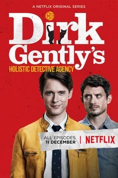 Dirk Gently's Holistic Detective Agency Coming to Netflix in December