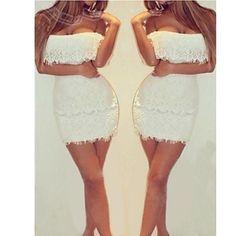 Nuo wei si ®  Women's Sleeveless Slim Fashion Bateau Lace Sexy Elegance Dresses – CAD $ 14.82