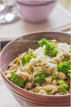 Spatzle (gnocchetti) di grano saraceno con broccoli e taleggio