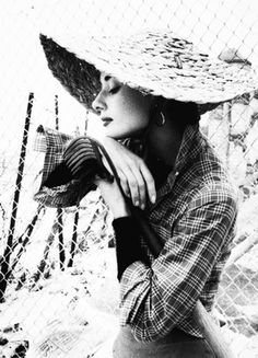 Audrey Hepburn by Milton Greene, 1953