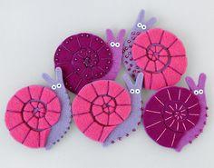 lovely snails - mobile idea?