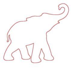 Bama Elephant Silhouette Studio File by SassyStudioFiles on Etsy
