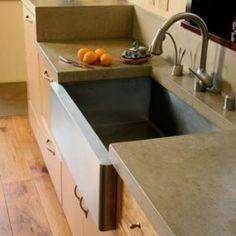 Concrete Kitchen Countertops In California | Mark Concrete