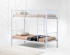 MARS Steel Frame Bunk Bed , Bedroom, NZ's Largest Furniture Range with Guaranteed Lowest Prices: Bedroom Furniture, Sofa, Couch, Lounge suit...