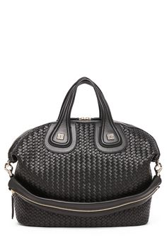 GIVENCHY | Nightingale Medium Woven in Black