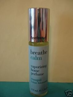 """bath & body used to sell this incredible lotus blossom scent called """"breathe calm."""""""