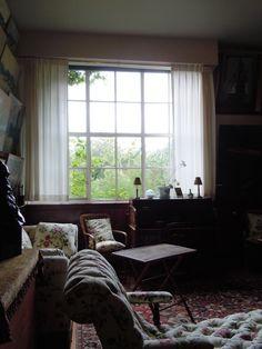 Inicio de Monet en Giverny, Francia: Primer piso Sala de estar