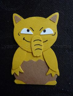 Gotta Craft Them All challenge dag 98: #Drowzee #Pokemon https://www.facebook.com/Lysettes.stampin.universe