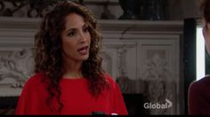 """The Young and the Restless"" spoilers for Monday, March 13, tease that trouble is brewing for Lily (Christel Khalil). At the athletic club, a weird guy lurks outside Lily's suite. Billy (Jason Thompson) arrives and speaks with Lily about the wedding fair happening downstairs. She asks about Cane (Da"