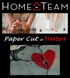 "#HOMETEAM #DALLAS TONIGHT! ""Paper Cut or FRACTURE: The DANGERS of dating someone who is STILL broken by their PAST""  #lookBEYONDthe6PACK  #WHATisLOREALconcealing  It's not about the #baggage you GET - it's about the baggage you KEEP! www.hometeamdallas.org"