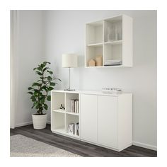 buffet scandinave laqu blanc et couleur bois lars meubles de style scandinave pinterest. Black Bedroom Furniture Sets. Home Design Ideas