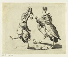 Arent van Bolten's Grotesques | The Public Domain Review...the one on the left looks a little fascist perhaps...