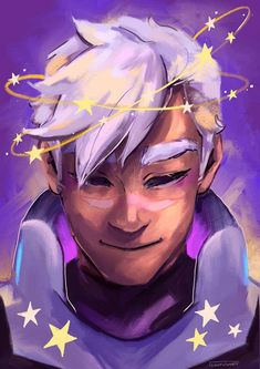 *SPOILERS* I KNEW Shiro was going to come out with white hair after Allura transferred his spirit into Kuron's body but I don't know how to feel about it yet. Let this poor man have a consistent hairstyle dammit