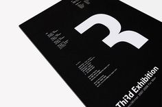 Autumn / Winter Exhibition invitation, 4 Nation by STUDIO NEWWORK , via Behance