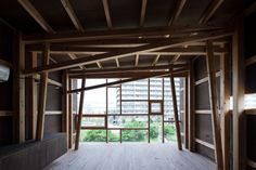 House of Japanese Cedar, Suga Shotaro/Suga Atelier, Osaka, Japan 2011