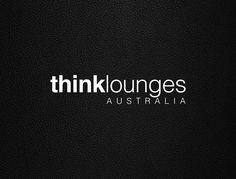 Logo Design - Think Lounges Australia / Lounge company / Designed by Mimpy and Co. Lounges, Design Thinking, Logo Design, Australia, Salons, Living Rooms, Lounge