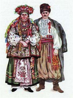 Вышиванки история украинского костюма