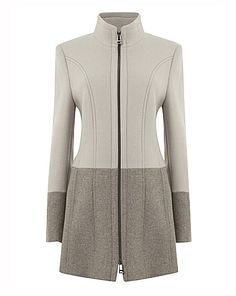 Gerry Weber Two Tone Wool Coat