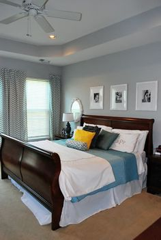 Bedroom Paint Colors With Cherry Furniture More Cherry