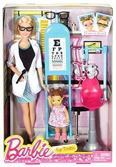 on S A L E Barbie Careers Eye Doctor Playset Fast Shipping #Mattel
