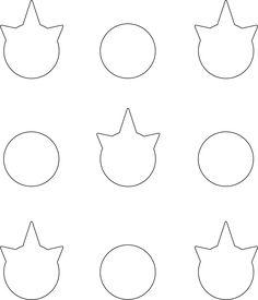 Printable  Inch Macaron Template Circle CakepinsCom  Macaron