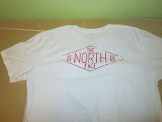 THE NORTH FACE   T Shirt Sz L Large  - White  #TheNorthFace #GraphicTee