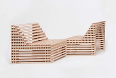 ian stell forms flexible furniture that expands + contracts for countless configurations