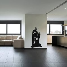 You just don't stumble upon a lavish decor plan, you need to create it! Use the royal touch of this Moses Wall Decal and get that grand look in the living area. Check out the list below for available sizes and colors. SMALL :- 14 X 24 - IN INCHES MEDIUM :- 24 X 44 - IN INCHES LARGE :- 27 X 48 - IN INCHES