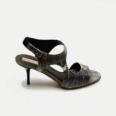 Reed Krakoff — Cut Out Sandal - White Black