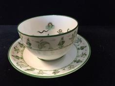 The Cup of Destiny by Pertersyn Co Passaic NJ Fortune Telling Teacup