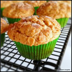 Apple Peanut Butter Muffins