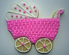 Flour Box Bakery — Pink Baby 'Basket' Carriage