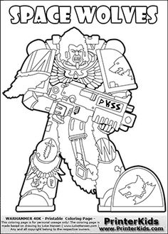 Colouring Page With An Amazing Combination Of Barbarian Culture