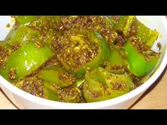 INSTANT Rajasthani Green Chilly Pickle - YouTube