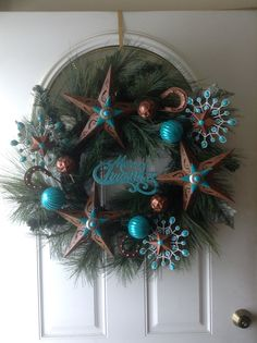 2013 Western Christmas Wreath Making this for sure for all season's!!